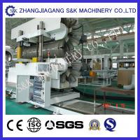Automatical 150-300mm pe corrugated pipe extrusion line single / double wall With CE
