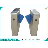 Wholesale Subway High-end Residential Managements Flap Gate Security Turnstile System from china suppliers