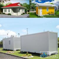 Wholesale Movable 20 FT Container Home With Wood Wall Sandwich Panel Inside from china suppliers