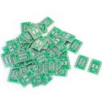 Wholesale 50-X-SOP16-SSOP16-TSSOP16-to-DIP16-0-65-1-27mm-IC-PCB Adapter Socket Boards from china suppliers