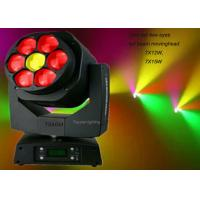 Wholesale Zoom Moving Head Beam Light With High Power 12w / 15w Led Lamp , AC100-240V from china suppliers