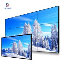 Wholesale 55 Inch HD Video Wall 1080P Resolution Monitor Hd Ultra Narrow Bezel Videowall from china suppliers