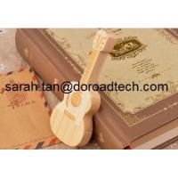 Wholesale USB Flash Drive Wooden Guitar Pen Drive Maple Wood Pendrives Memory Stick from china suppliers