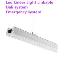 Wholesale IP 44 Suspended LED Linear Lighting Anti Moisture 50000 Hours Lifespan from china suppliers