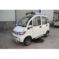 Wholesale 60V1200W Motor Electric Passenger Car With Four Wheels can sit  4 people from china suppliers