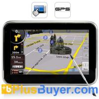 "Wholesale Portable 4.3"" GPS Navigator + Multimedia Player - SiRF Atlas IV Chipset from china suppliers"