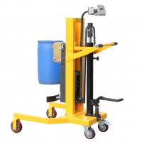 Wholesale Electronic Balance 400Kg Load Hydraulic Drum Lifters Handling Equipment from china suppliers