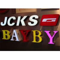 Wholesale Face Lit Acrylic Letters With LED For Lighting Up Store Logo , Restaurant LED Signs from china suppliers