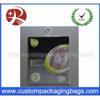 Wholesale Resealable Plastic Hanger Bags from china suppliers
