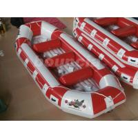 Wholesale Fun Inflatable Raft Party Boat Inflatable River Rafts With Durable Base from china suppliers