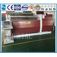 Wholesale MCLW12CNC-10*2000 CNC four roller plate rolling machine,high quality machine manufacturer from china suppliers