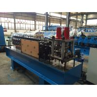 Quality U Shaped Z Purlin Roll Forming Machine 5.5kw Servo Motor , Stainless Steel Material for sale