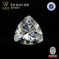 Wholesale 3A/5A Grade(Korean machine cut) White 8mm trillion cut faceted gem stone Cubic Zirconia Stone from china suppliers