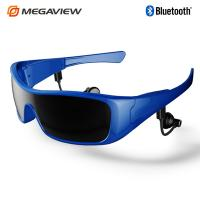 Quality Romote Control Bluetooth Headset Sunglasses For Enjoying Music , Answering Call for sale