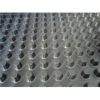 Wholesale Plastic Single Side Dimpled Drainage Board For Foundations / Basement Construction from china suppliers