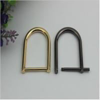 Wholesale High quality metal adjuster d ring buckle,easy datechable bag strap buckle 28mm from china suppliers