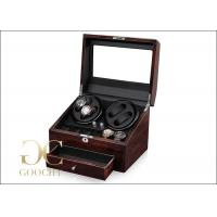 Wholesale Leather Automatic Watch Winders / 10 Unit Watch Winder 2 Mabuchi Motors CE from china suppliers