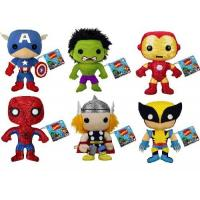 Wholesale 20cm Small Cartoon Stuffed Plush Toys Marvel Comics the Avengers Stuffed Toys for Boys , Girls from china suppliers