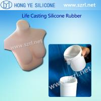Quality Liquid platinum cure silicone rubber for adult women sex toys making for sale