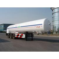 Wholesale 26000L-3 axles -Cryogenic Liquid Lorry Tanker for Liquid Oxygen from china suppliers