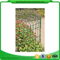 "Wholesale Economical Garden Plant Accessories - Dark Green  Mesh Steel Wire Fencing PVC-coated 1/16"" wire  All heights are 32'-9"" from china suppliers"