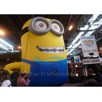 Buy cheap PVC Tarpaulin Inflatable Cartoon Character Giant Inflatable Minions Customized Size from wholesalers