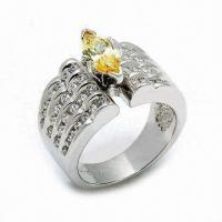 Wholesale 925 Sterling Silver Ring, Customized Designs are Welcome from china suppliers