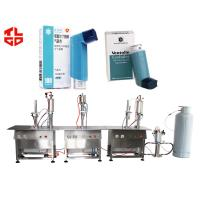 Wholesale Pharmaceutical Dose Inhaler Asthma Spray Filling Machines from china suppliers