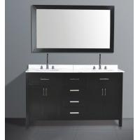 Quality hangzhou solid wood bathroom furniture for sale