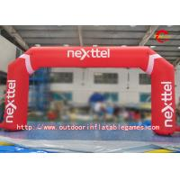 Wholesale Attractive  Inflatable Start Finish Arch For Marathon With LED Lighting from china suppliers
