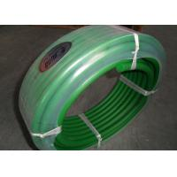Wholesale Green color hardness 85A transmission belting and Polyurethane round belt poly cord from china suppliers