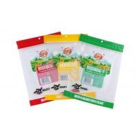 Wholesale custom printed 3 side seal/flat pouches for packing snack food products with Tear notch from china suppliers