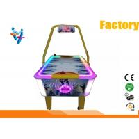 Wholesale 220v Metal Acylic Arcade Air Hockey Table Blue Pink Green Yellow 60Kg from china suppliers