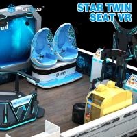 Wholesale Two Seats 9D VR Ride Cabin Cinema Virtual Reality simulator For Kids Amusement Park from china suppliers
