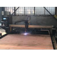Quality USB Transmission 50HZ / 60HZ Steel Metal Plasma CNC Cutting Machine With THC for sale