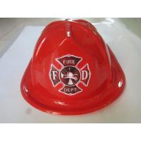 Wholesale Fireman Party Helmets, Kid Fireman Costume plastic hat from china suppliers