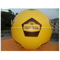 Wholesale Soccer Style Helium Balloon Advertising Inflatables with SilkPrinting from china suppliers