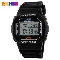 Wholesale Square Shaped LCD Digital Watches Korea Stylish 3ATM Waterproof from china suppliers