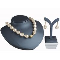 Wholesale Champagne Baroque Pearl Necklace With Magnetic Clasp , Antique Pearl Necklace from china suppliers