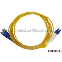 Wholesale Premium High Return Loss optical fiber patch cord LC To SC Patch Cord For Telecom from china suppliers