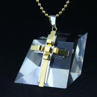 Wholesale Fashion Top Trendy Stainless Steel Cross Necklace Pendant LPC278 from china suppliers