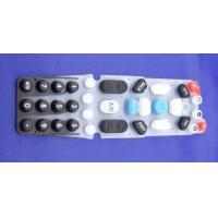 Wholesale Single Waterproof Rubber Membrane Switch Microwave CNC Overlay Keyboard from china suppliers