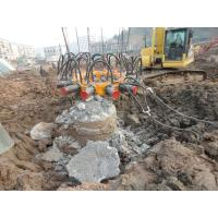 Wholesale Big Crush Breaker Round / Square Hydraulic Concrete Pile Head from china suppliers