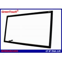 Wholesale Large USB / RS232 Interface 84 Inch Infrared Touch Screen Frame , FCC from china suppliers