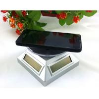 Wholesale Solar Power Rotating mobile phone Display Stand with Battery from china suppliers