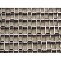 """Wholesale Welded Edge And Clinched Edge SS304/316 Flat wire Conveyor Belt, 1""""*1"""" Hole,1.5mm*1/2"""" Strip Belt from china suppliers"""