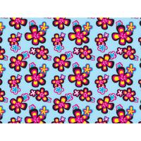 Wholesale Printed Coated Polyester Fabric For Luggage , PVC Polyester Fabric from china suppliers