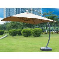 Wholesale Outdoor steel umbrella with powder coating finish from china suppliers