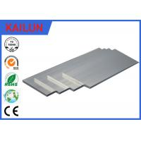 Wholesale 40mm Silver Oxidation Aluminium Flat Bar , 6063 Anodized Aluminum Extrusion Solid Bar Profiles from china suppliers