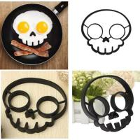 Wholesale Skull Shaped 100% Food Grade Silicone Egg Ring Owl Shaped Egg Fried Ring from china suppliers
